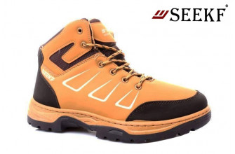 Ботинки Мужские зимние SEEKF (SKFZ1-21-22-5056-7) (Подкладка: Искусственный мех)