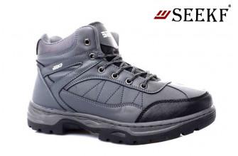 Ботинки Мужские зимние SEEKF (SKFZ1-21-22-5055-1) (Подкладка: Искусственный мех)
