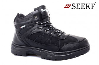 Ботинки Мужские зимние SEEKF (SKFZ1-21-22-5055-10) (Подкладка: Искусственный мех)