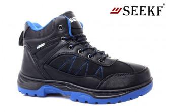 Ботинки Мужские зимние SEEKF (SKFZ1-21-22-5055-3) (Подкладка: Искусственный мех)