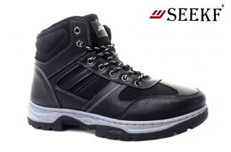 Ботинки Мужские зимние SEEKF (SKFZ1-21-22-5057-1) (Подкладка: Искусственный мех)