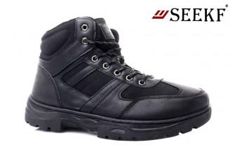 Ботинки Мужские зимние SEEKF (SKFZ1-21-22-5057-3) (Подкладка: Искусственный мех)