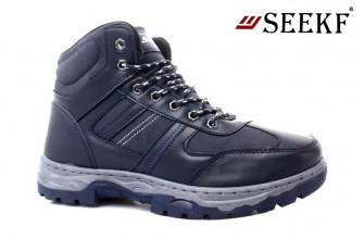 Ботинки Мужские зимние SEEKF (SKFZ1-21-22-5057-5) (Подкладка: Искусственный мех)