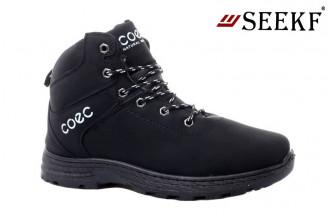 Ботинки Мужские зимние SEEKF (SKFZ1-21-22-5025-1) (Подкладка: Искусственный мех)