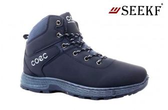 Ботинки Мужские зимние SEEKF (SKFZ1-21-22-5025-2) (Подкладка: Искусственный мех)