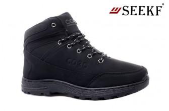 Ботинки Мужские зимние SEEKF (SKFZ1-21-22-5023-2) (Подкладка: Искусственный мех)