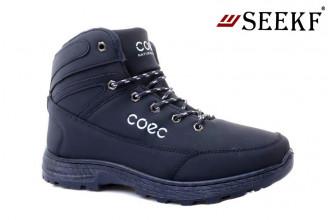 Ботинки Мужские зимние SEEKF (SKFZ1-21-22-5023-3) (Подкладка: Искусственный мех)