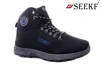 Ботинки Мужские зимние SEEKF (SKFZ1-21-22-598-2) (Подкладка: Искусственный мех)