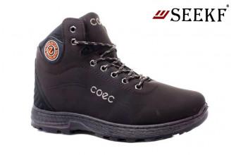 Ботинки Мужские зимние SEEKF (SKFZ1-21-22-598-6) (Подкладка: Искусственный мех)