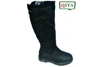 Сапоги Женские зимние QIYA (VTLZ1-20-21-MC1659) (Широкая голяшка)
