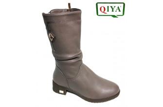 Сапоги Женские зимние QIYA (VTLZ1-20-21-MQ2039)