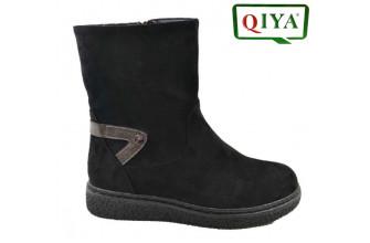 Ботинки Женские зимние QIYA (VTLZ1-20-21-MC2125)