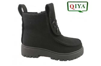 Ботинки Женские зимние QIYA (VTLZ1-20-21-M1387)