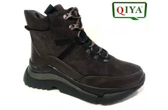 Ботинки Женские зимние QIYA (VTLZ1-20-21-MF2153)