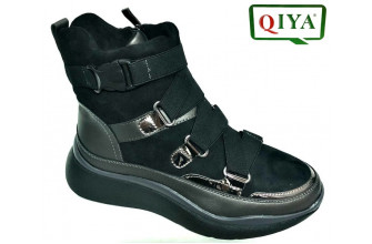 Ботинки Женские зимние QIYA (VTLZ1-20-21-MQ962)