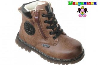 Ботинки Детские демисезонные на мальчика ШАЛУНИШКИ (ASMD1-9-B661-3)