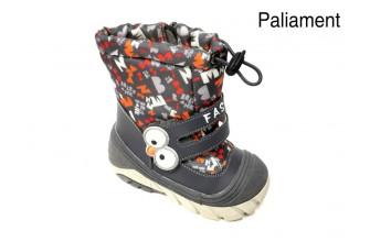 Сноубутсы Детские зимние PALIAMENT (ESND3-20-XT20-1B) (Подкладка: Набивная шерсть)