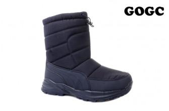 Дутики / Ботинки Мужские зимние GOGC (MMIZ1-21-22-G9990-7) (Подкладка: Набивная шерсть)