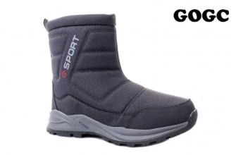 Дутики / Ботинки Мужские зимние GOGC (MMIZ1-21-22-G9974M-3) (Подкладка: Набивная шерсть)