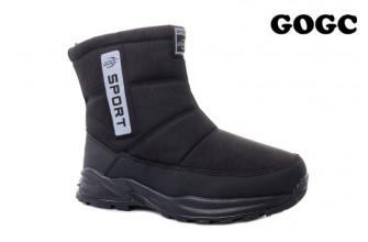 Дутики / Ботинки Мужские зимние GOGC (MMIZ1-21-22-G9962-1) (Подкладка: Набивная шерсть)